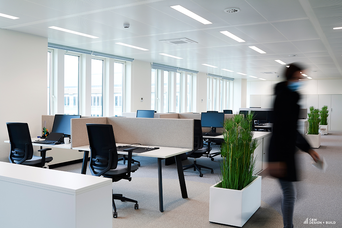 CTG new offices meeting room by Cushman and Wakefield Design + Build