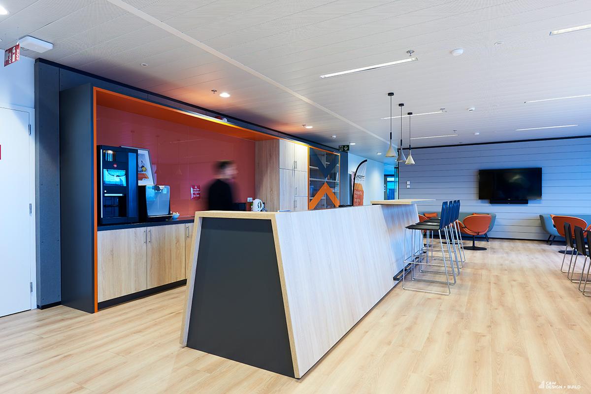 Etex new offices kitchen