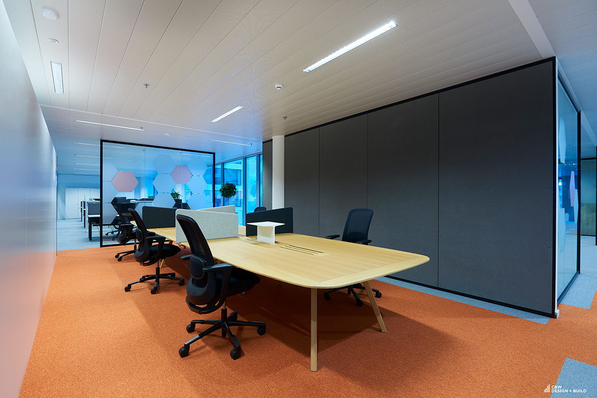 Etex new offices meeting room