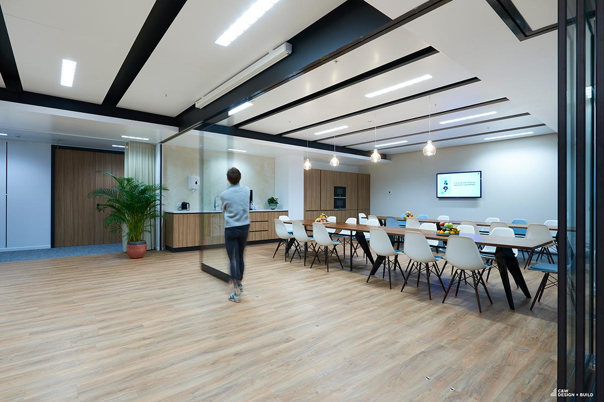 Febelfin new offices kitchen