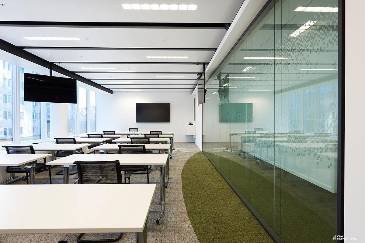 Febelfin new offices conference room