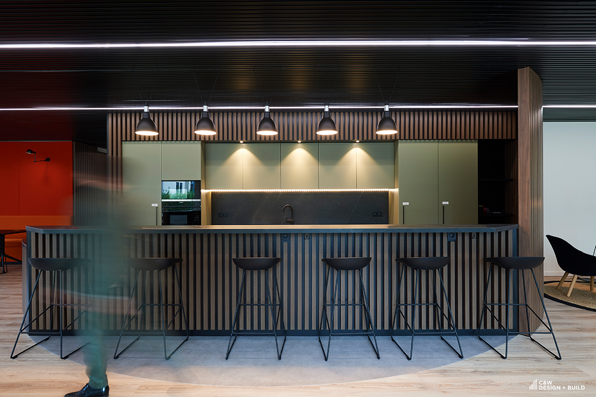 Limestone new offices kitchen