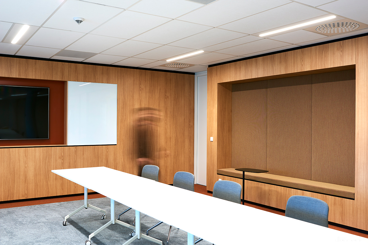Neovia new offices conference room