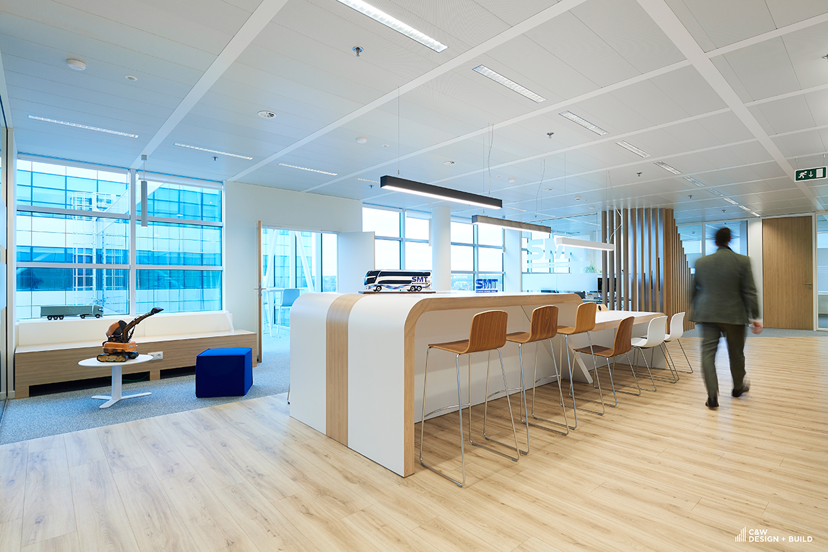 SMT new offices room