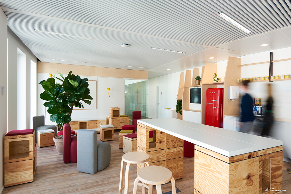 Unilever new offices coffee points