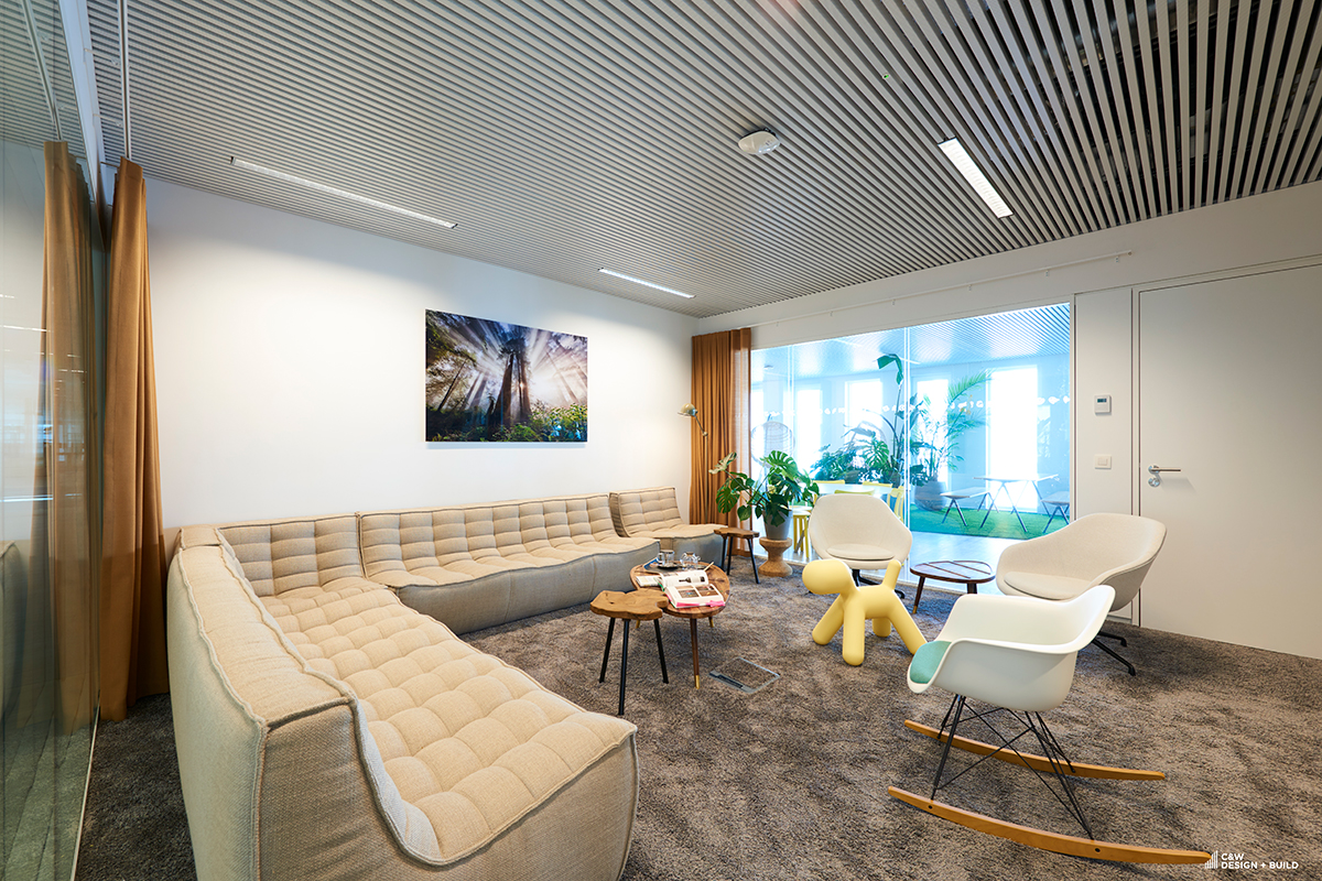 Unilever new offices waiting area