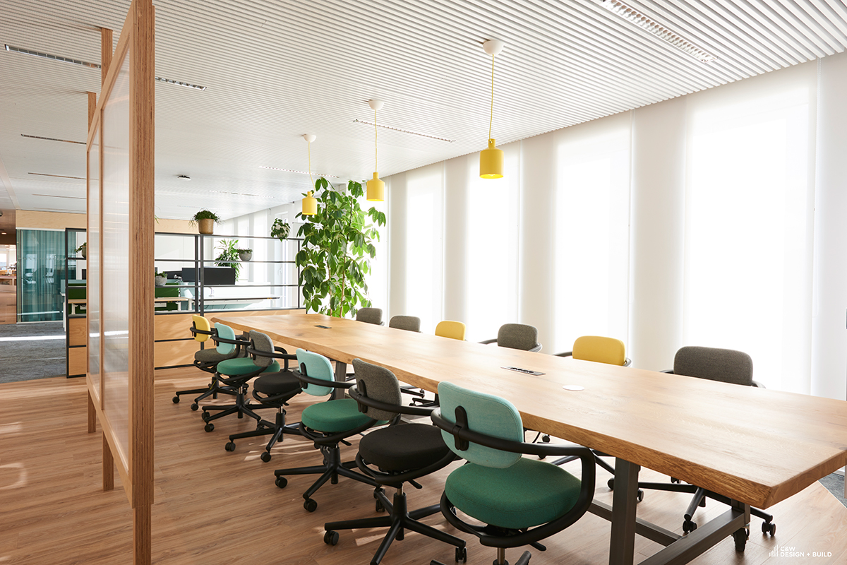Unilever new offices meeting room